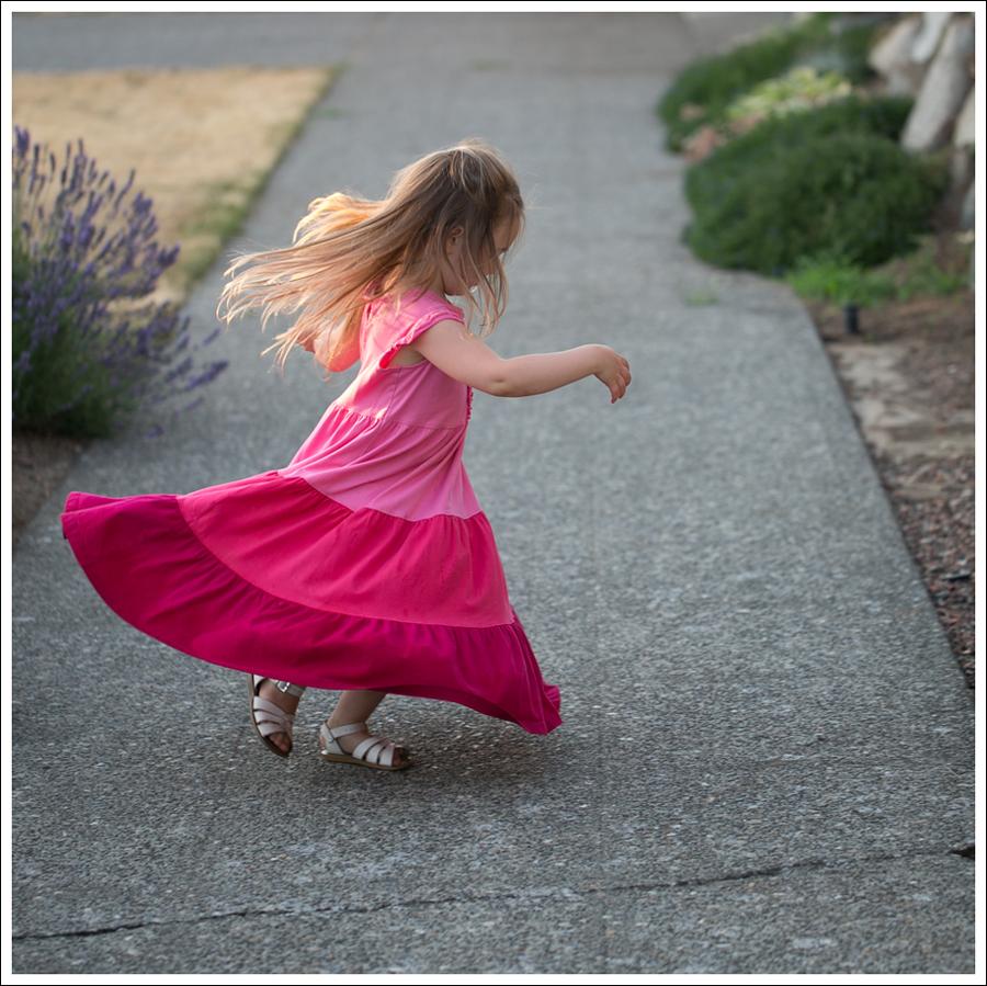 Blog Hanna Andersson Pink Twirl Dress White Saltwater Sandals-5