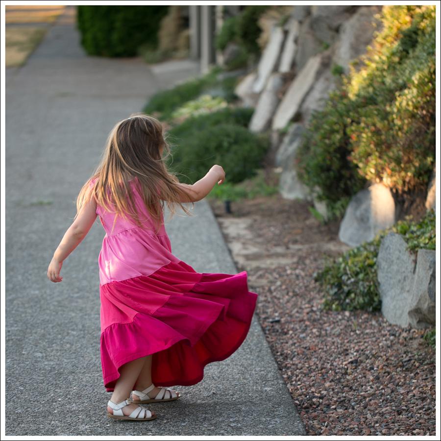 Blog Hanna Andersson Pink Twirl Dress White Saltwater Sandals-6