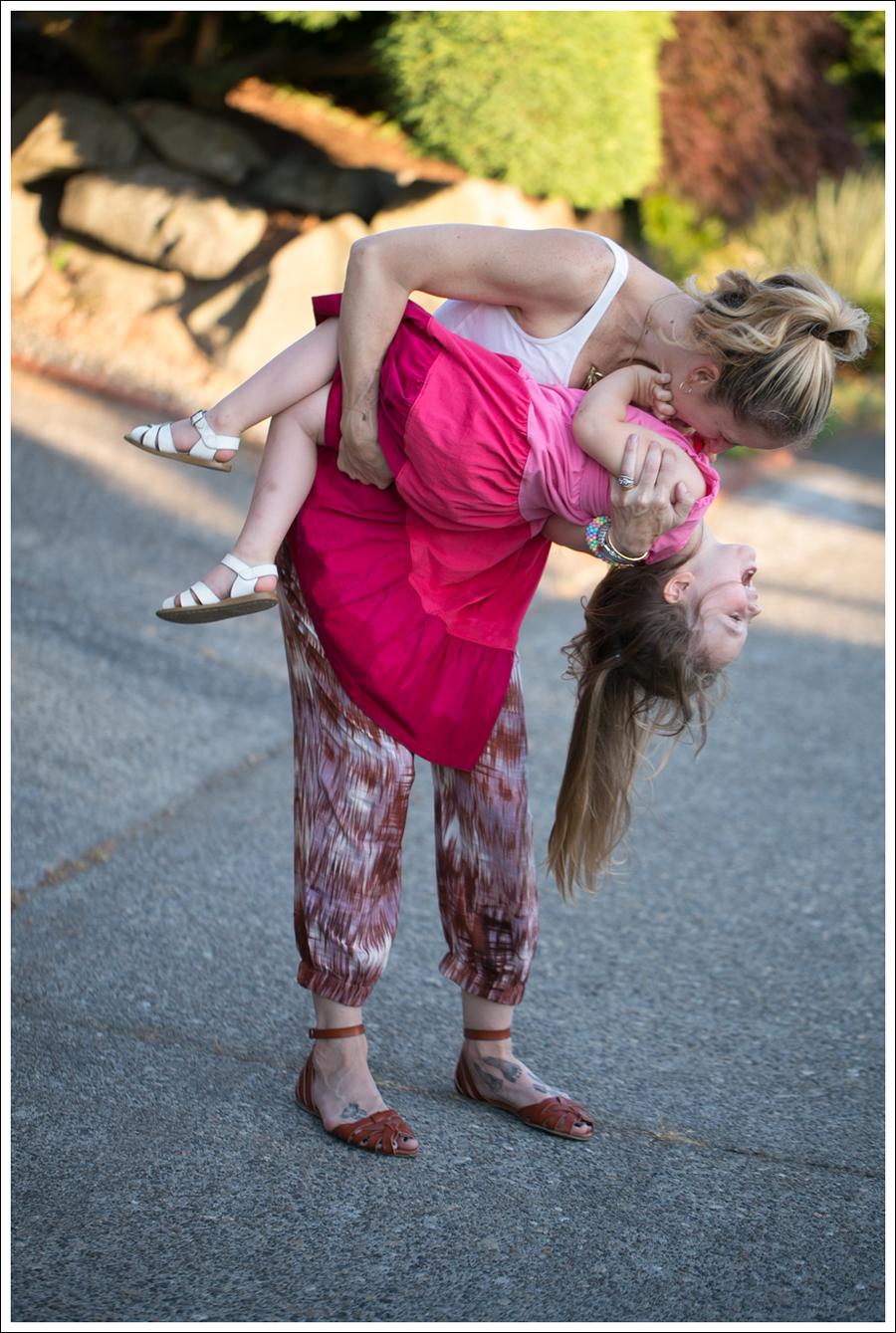 Blog HM White Tank Elizabeth and James Ruben Drawstring Silk Pants Target Shauna Huarache Sandals-13