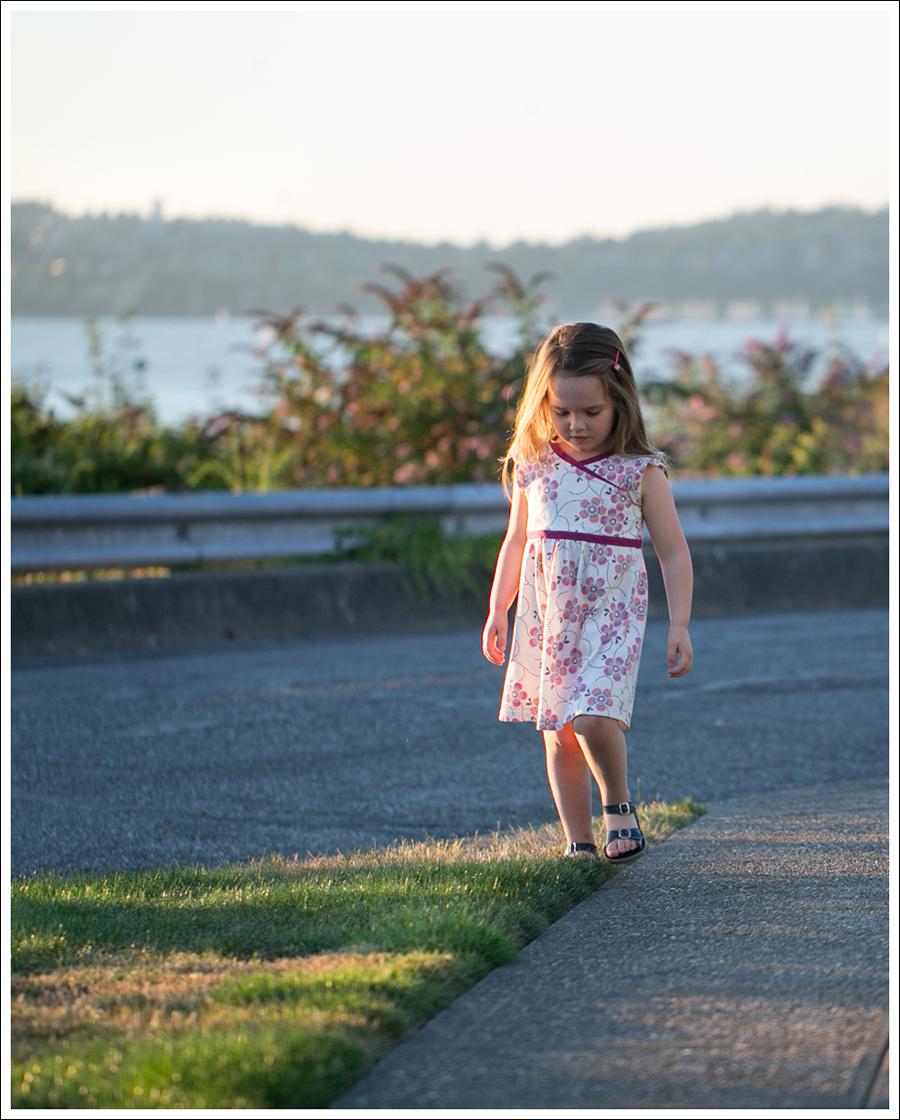 Blog Tea Collection Wrap Neck Mini Dress Navy Saltwater Sun San Sandals-10