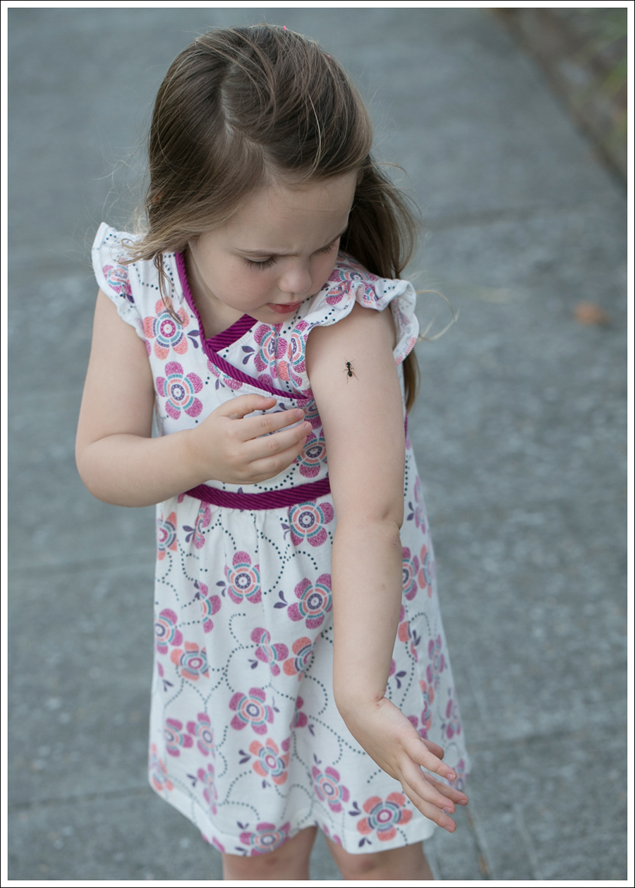 Blog Tea Collection Wrap Neck Mini Dress Navy Saltwater Sun San Sandals-3
