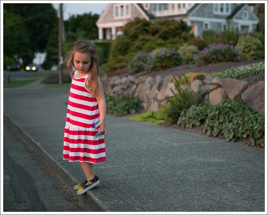 Blog HM Red Striped Dress Fire Checked Vans-11
