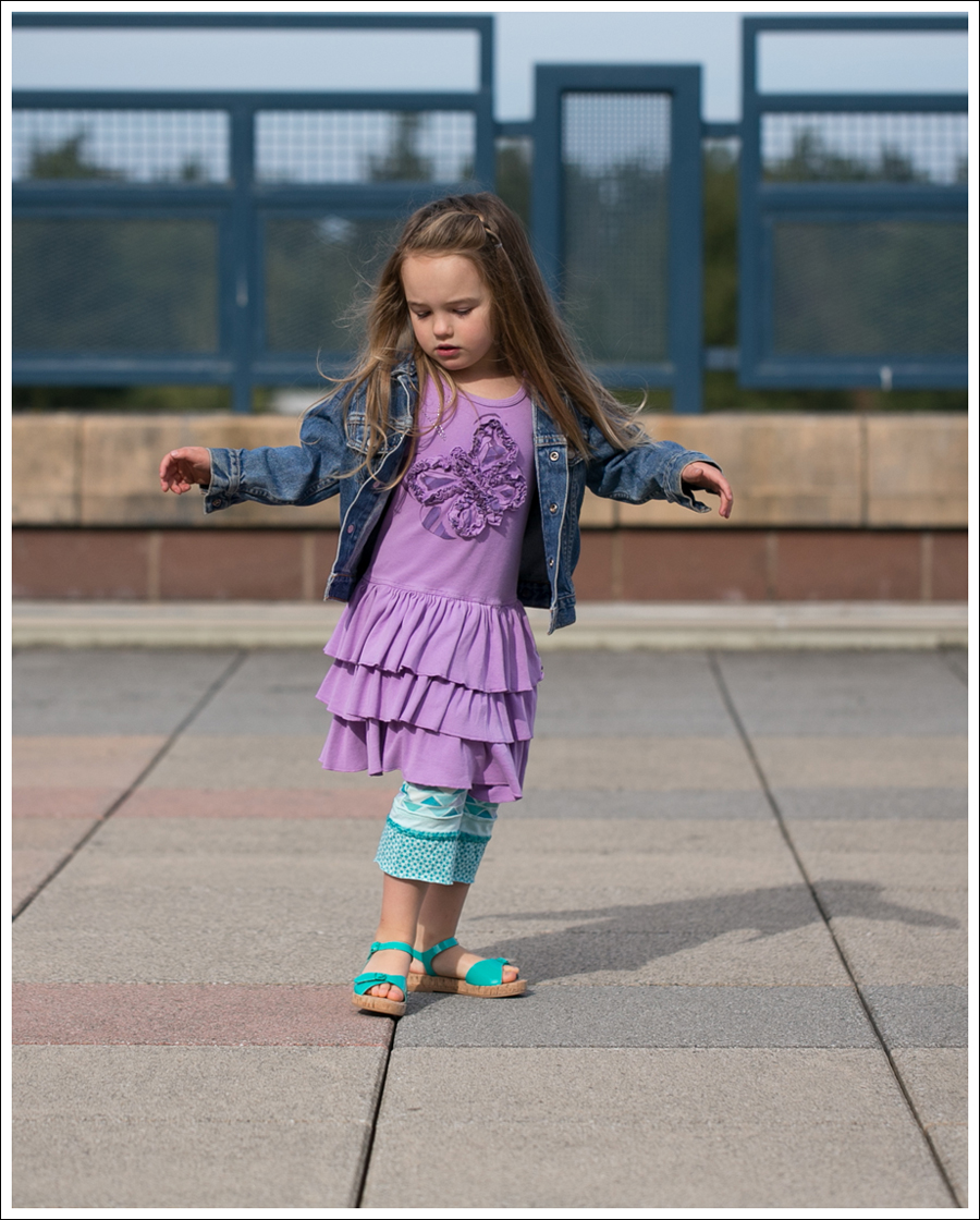 Blog Levis Jacket Mignone Butterfly Tiered Dress Naartjie Turquose Leggings Zara Sandals with Buckle-6