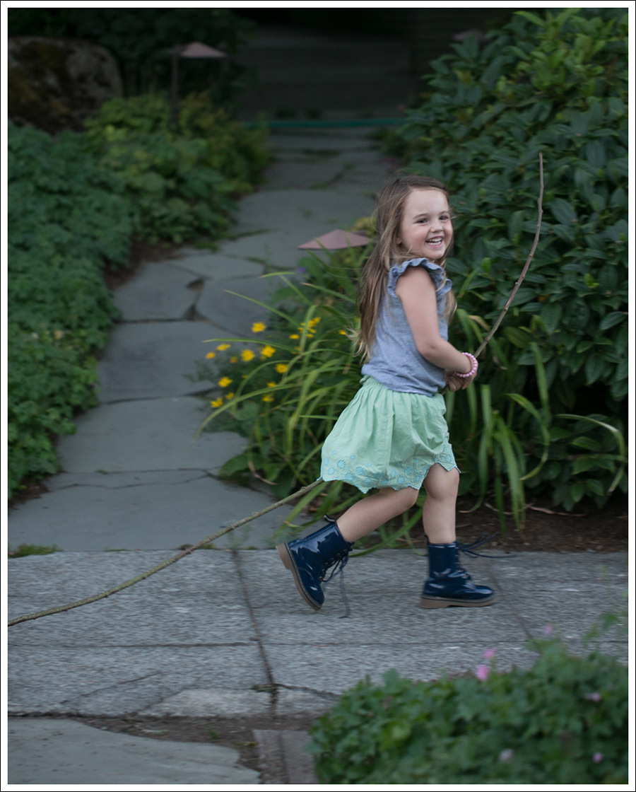 Blog Old Navy Striped Tee GapKids Green Boho Skirt Link Navy Patent Lace Up Boots-5