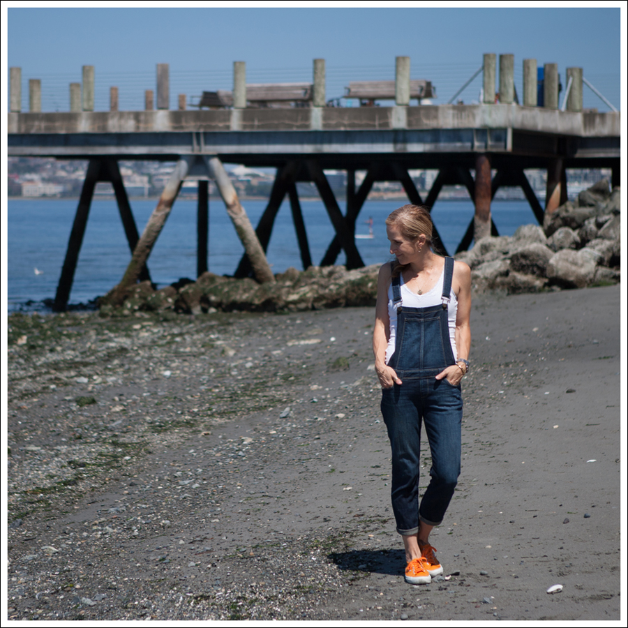 Blog Paige Denim Sierra Overalls Orange Superga-1