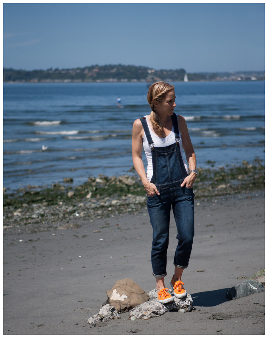 Blog Paige Denim Sierra Overalls Orange Superga-2