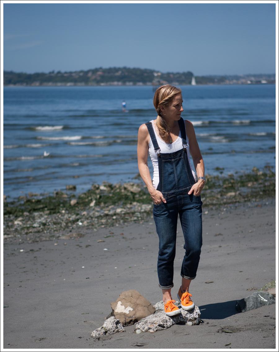 Blog Paige Denim Sierra Overalls Orange Superga-2