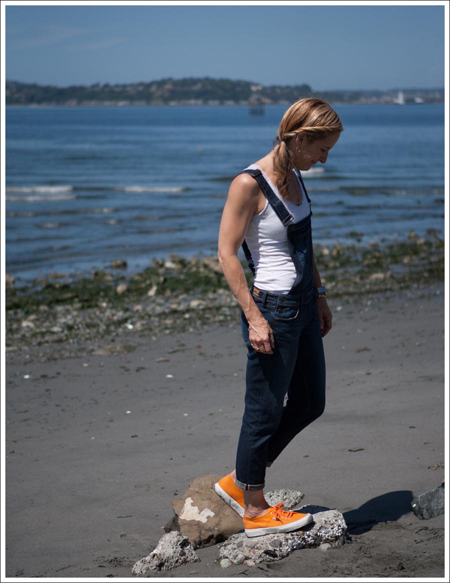 Blog Paige Denim Sierra Overalls Orange Superga-3