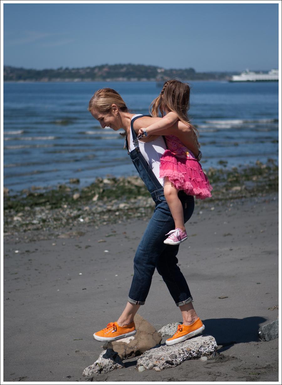 Blog Paige Denim Sierra Overalls Orange Superga-8
