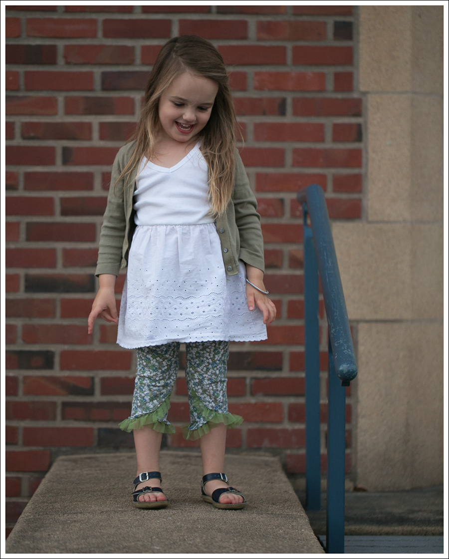 Blog Petit Bateau Cardigan Hanna Andersson Slip Dress Naartjie Leggings Saltwater Sun San Sandals-12