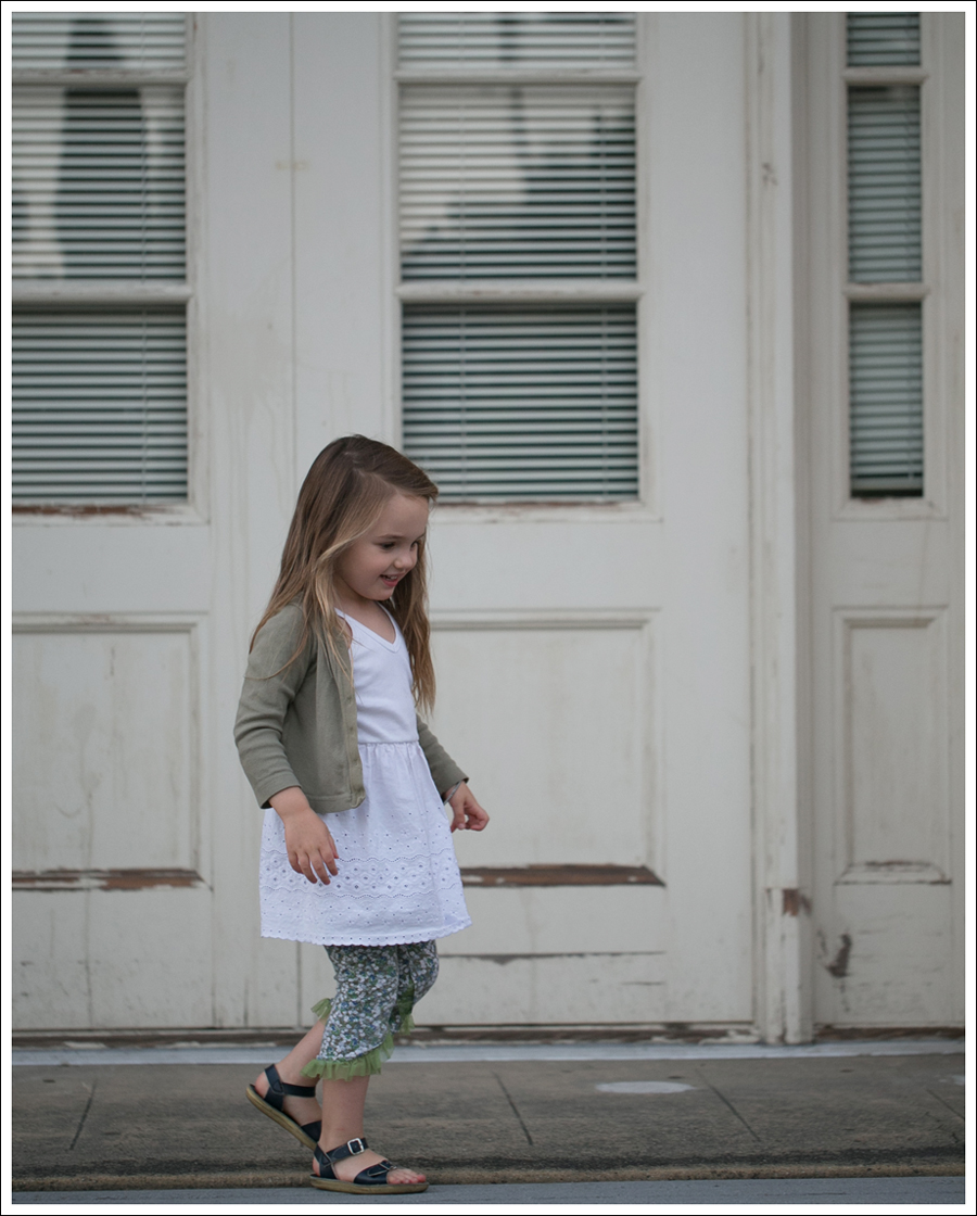 Blog Petit Bateau Cardigan Hanna Andersson Slip Dress Naartjie Leggings Saltwater Sun San Sandals-9