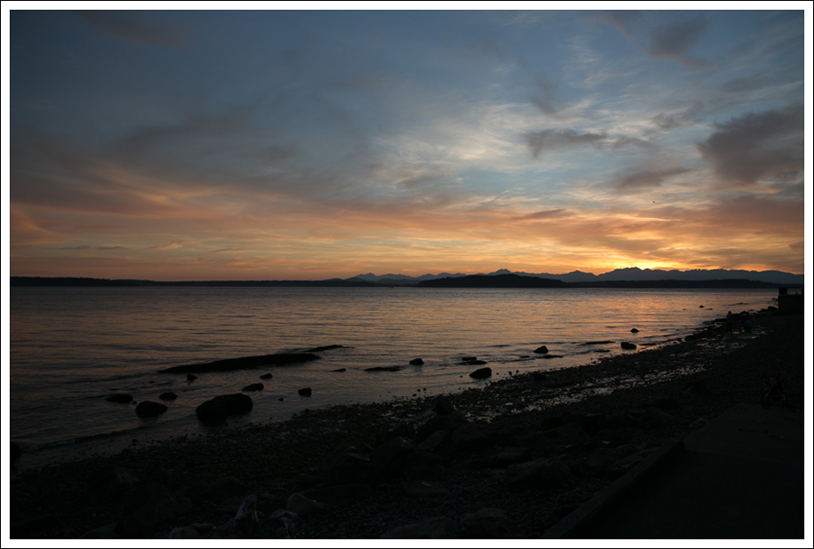 Blog West Seattle Sunset Constellation Park-3