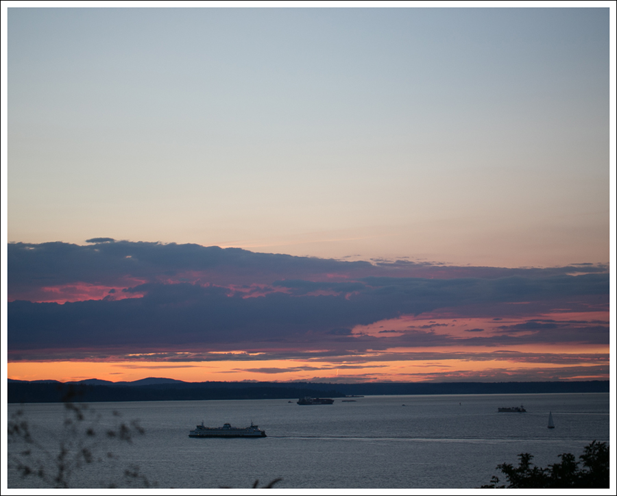 Blog West Seattle Sunset