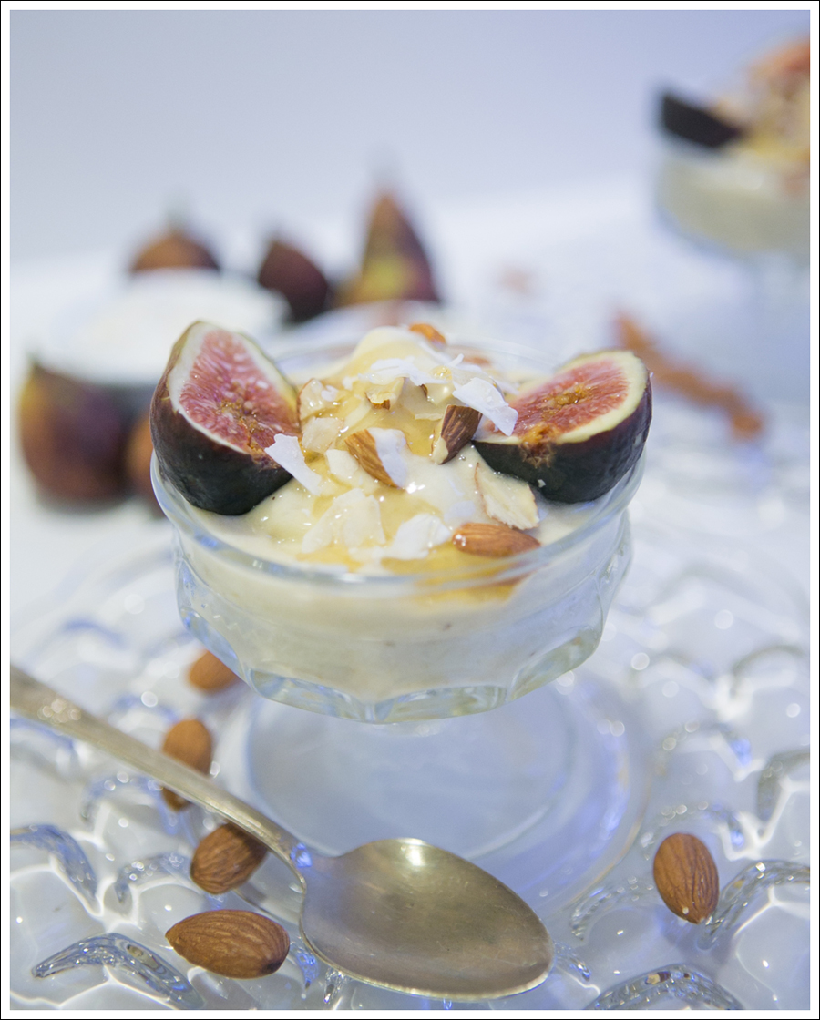 Blog Banana Ice Cream Sundays with Figs Almonds and Honey-1