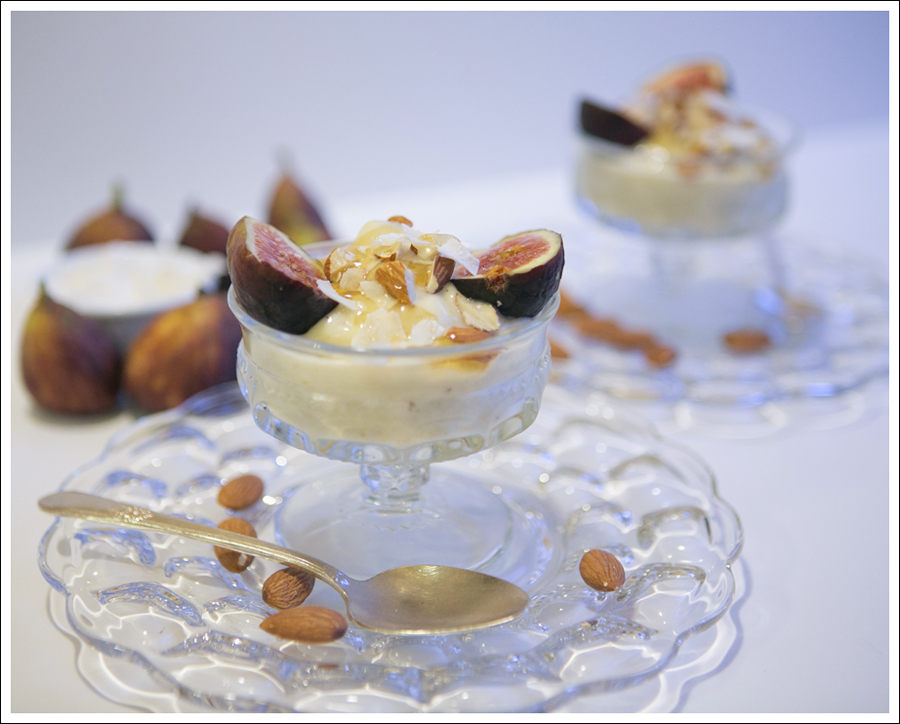 Blog Banana Ice Cream Sundays with Figs Almonds and Honey-2