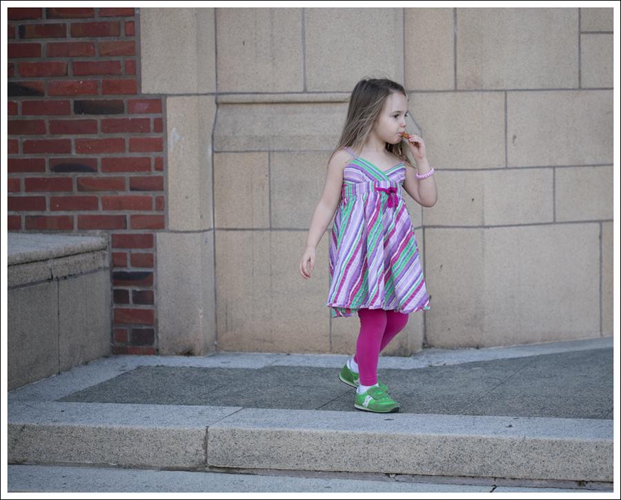 Blog Garnet Hill Striped Dress Hanna Andersson Leggings Saucony Sneakers-5