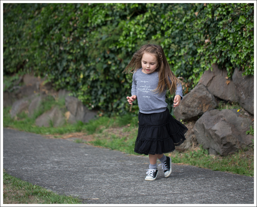 Blog Little Boogaweezin Dear Big Me Raglan Hanna Andersson Black Tutu Naartjie Leggings Black Converse-10