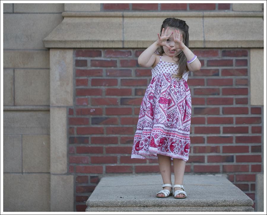 Blog Red Paisley GapKids Boho Dress Saltwater Sandals-10