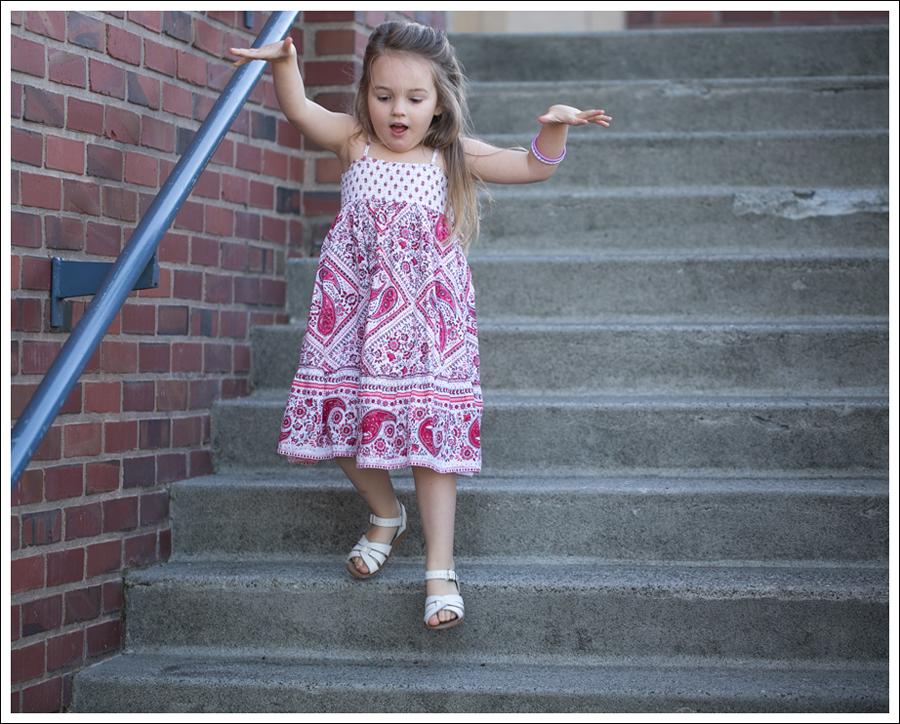 Blog Red Paisley GapKids Boho Dress Saltwater Sandals-4