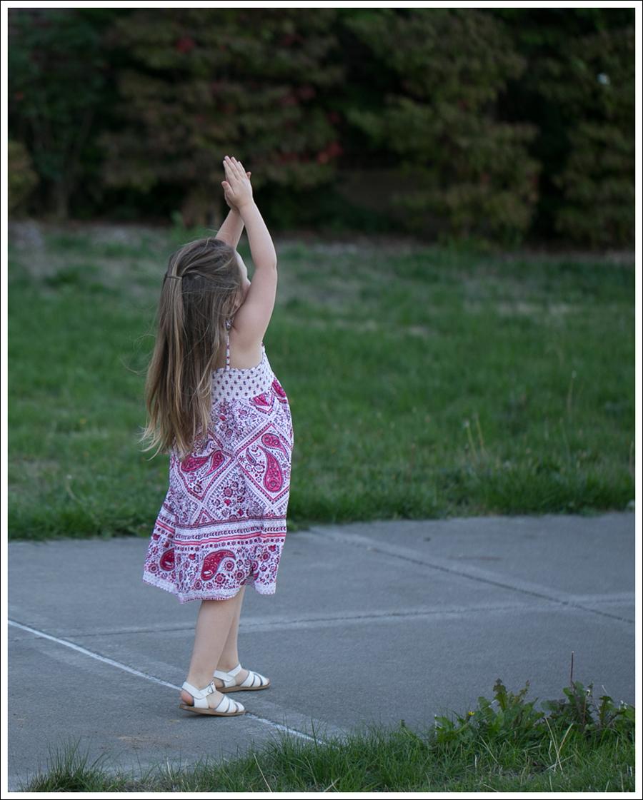 Blog Red Paisley GapKids Boho Dress Saltwater Sandals-5