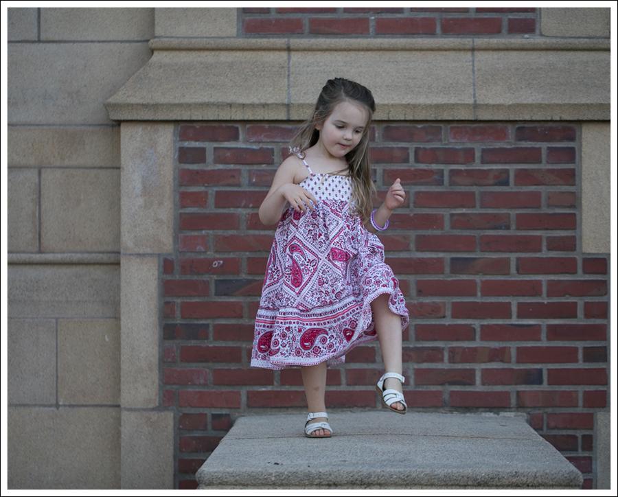 Blog Red Paisley GapKids Boho Dress Saltwater Sandals-7