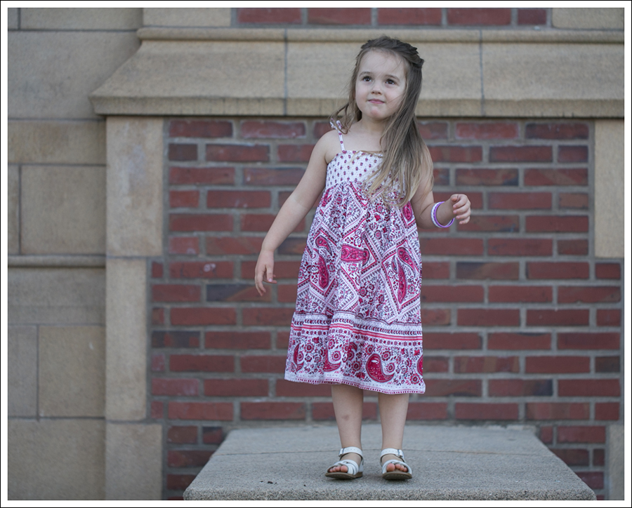 Blog Red Paisley GapKids Boho Dress Saltwater Sandals-8