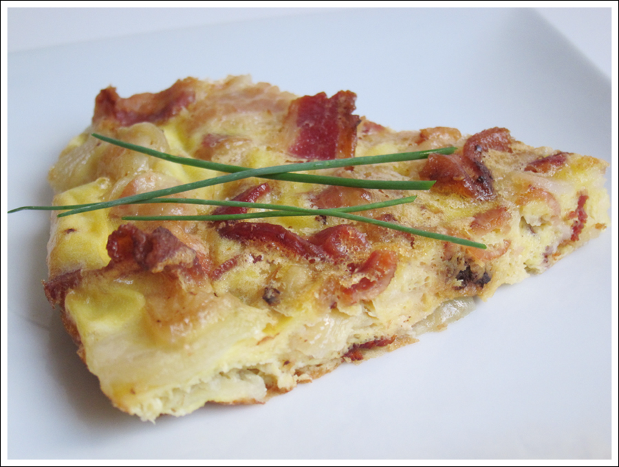 egg bacon tart paleo blog (2)