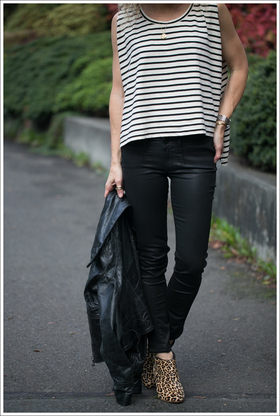 Blog Doma Leather Jacket Free People Madness Stripe Muscle Tank DL1961 River Atlanta Kimchi Blue Leopard Booties-8