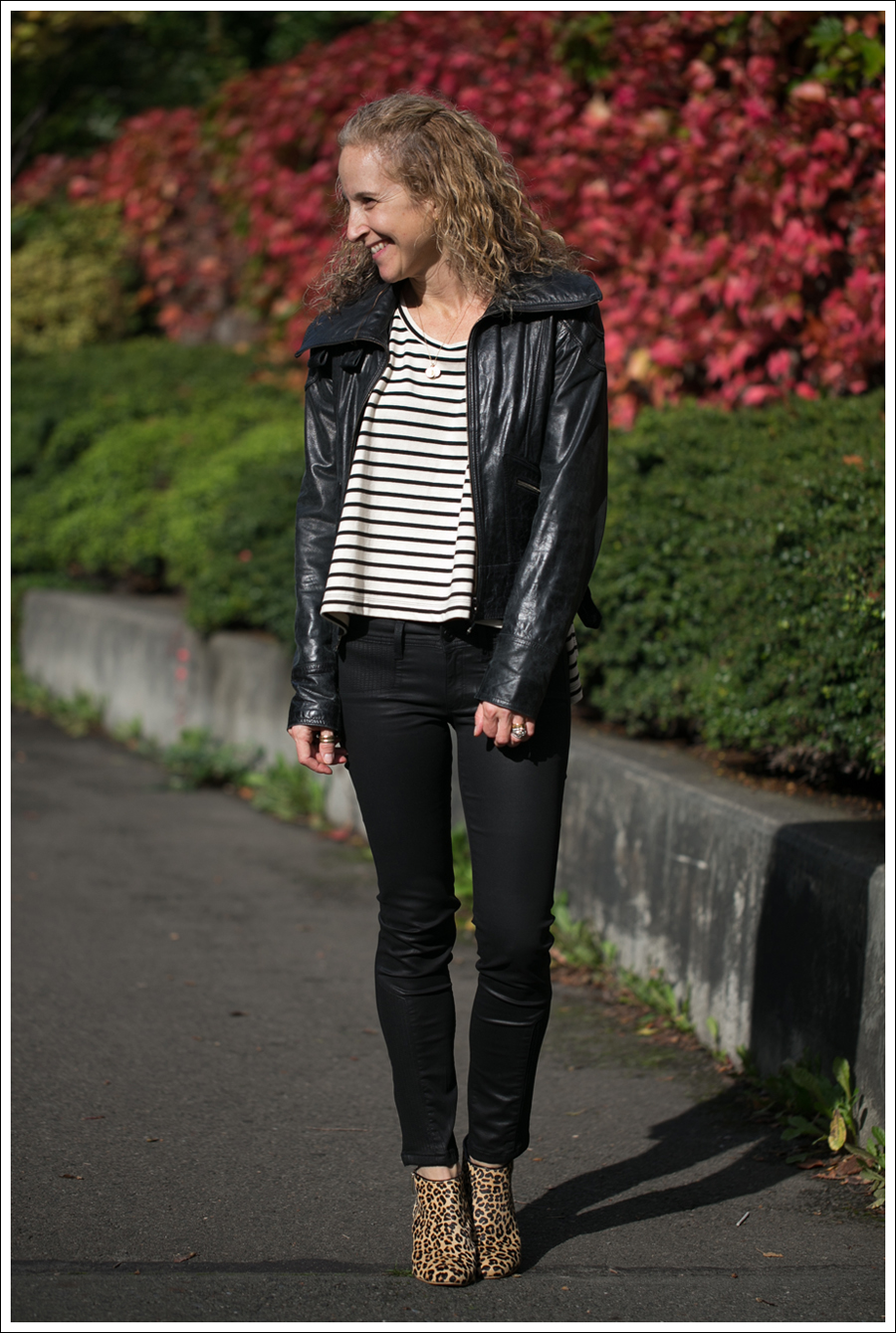 Blog Doma Leather Jacket Free People Madness Stripe Muscle Tank DL1961 River Atlanta Kimchi Blue Leopard Booties-9