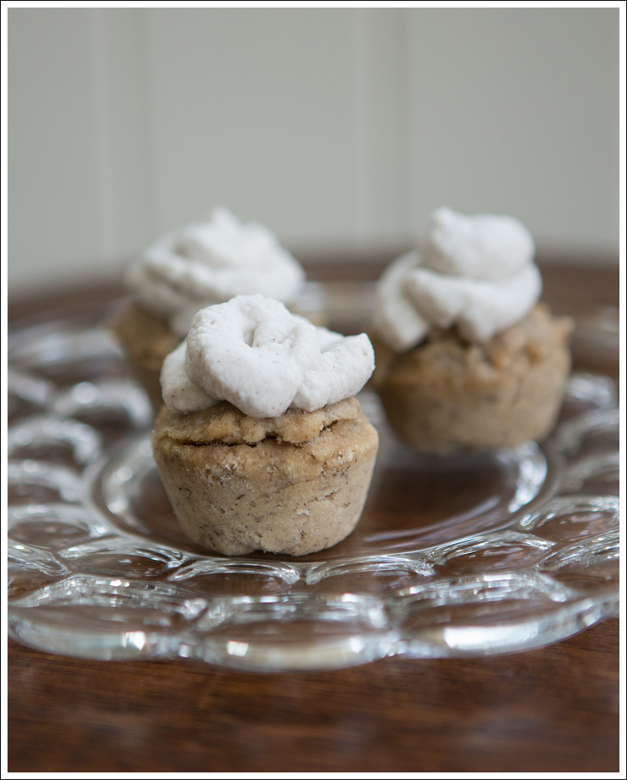 Blog Paleo Banana Mini Muffins with Vanilla Coconut Milk Whipped Cream Frosting-2