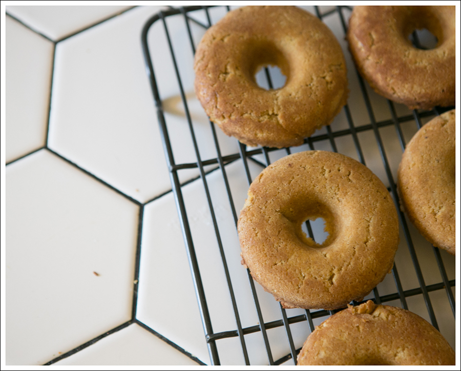Blog Paleo Pumpkin Donuts with Maple Pumkin Glaze Caramel Sauce-11