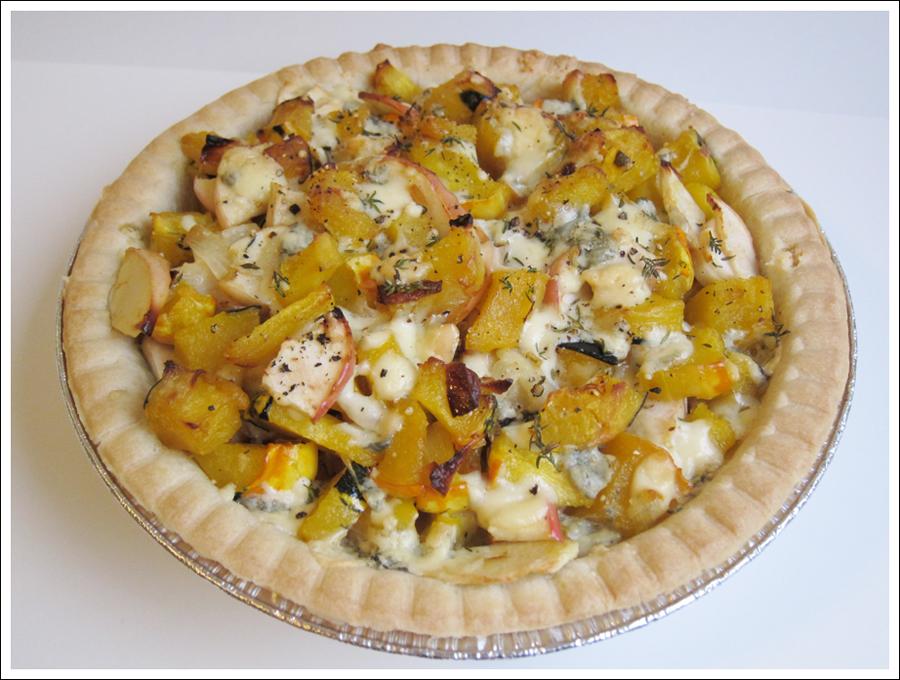 winter squash and apple pie (2)