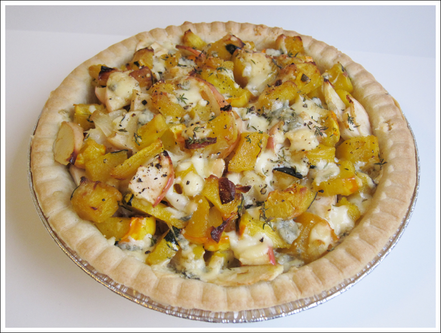 winter squash and apple pie (2)