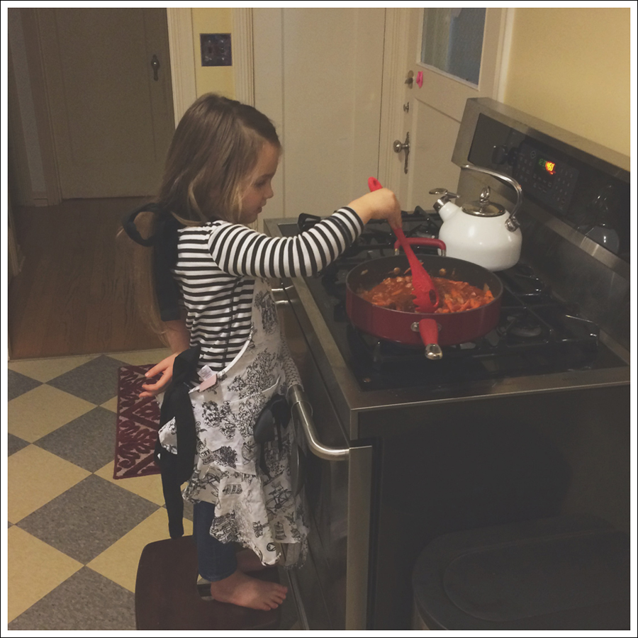 Blog Cooking with Toddlers