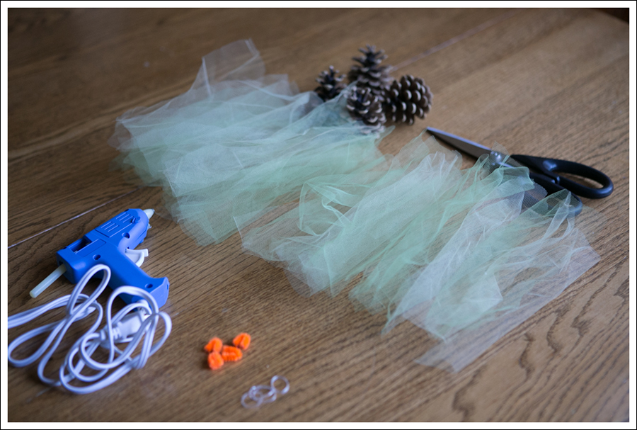 Blog DIY Pinecone Tulle Turkey-3
