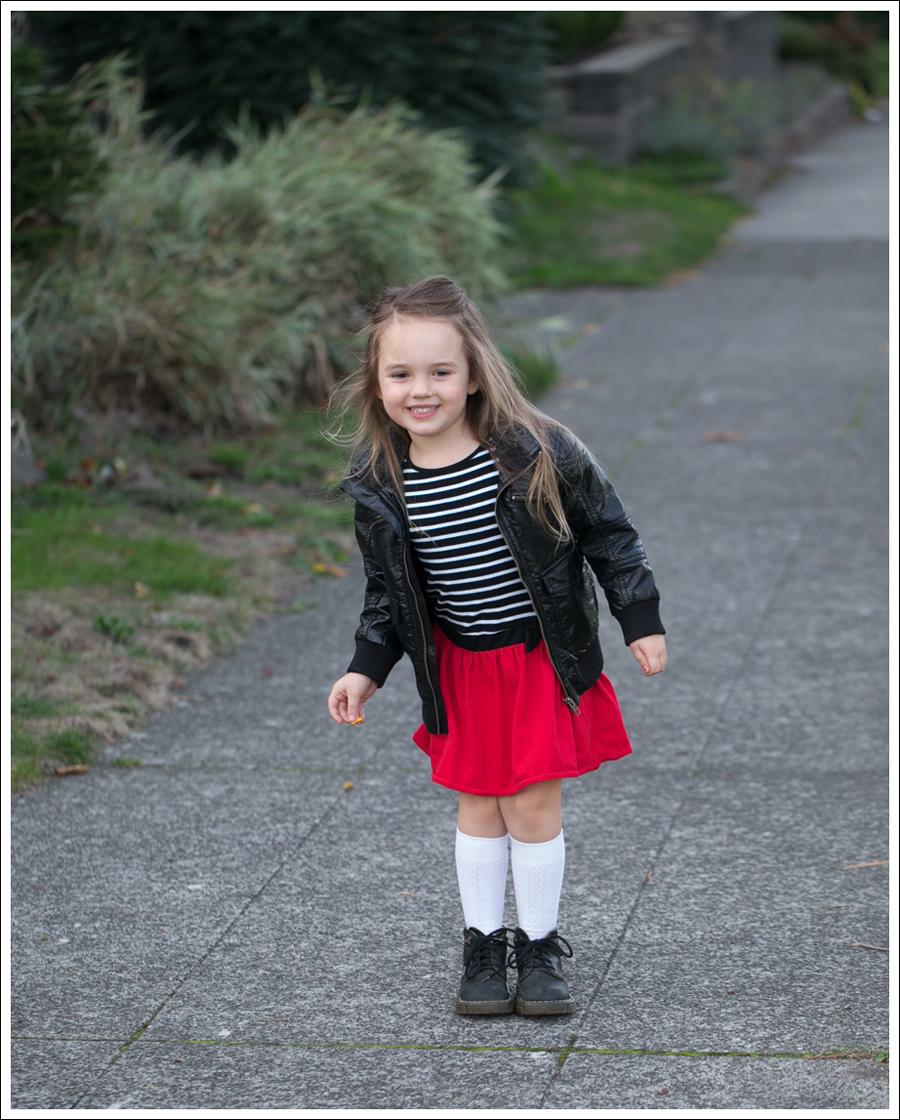 Blog HM Faux Leather Jacket GapKids Black Toddler Dr Martens-1
