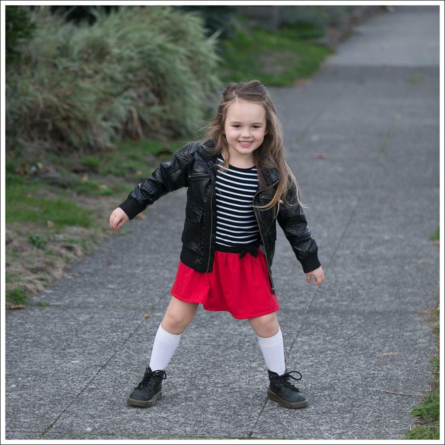 Blog HM Faux Leather Jacket GapKids Black Toddler Dr Martens-2