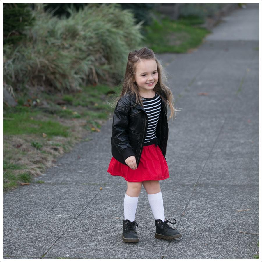 Blog HM Faux Leather Jacket GapKids Black Toddler Dr Martens-3