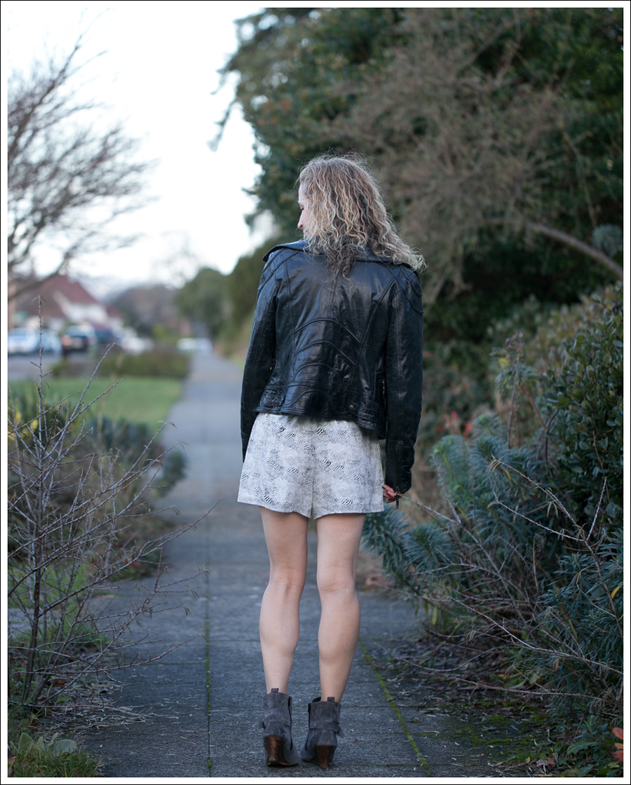 Blog Doma Leather Jacket Joie Silk Amara Romper Lola Kiem Booties-3