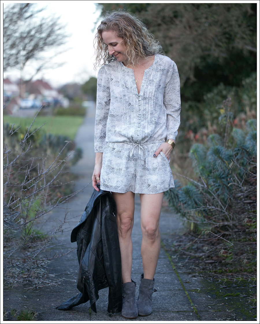 Blog Doma Leather Jacket Joie Silk Amara Romper Lola Kiem Booties-4