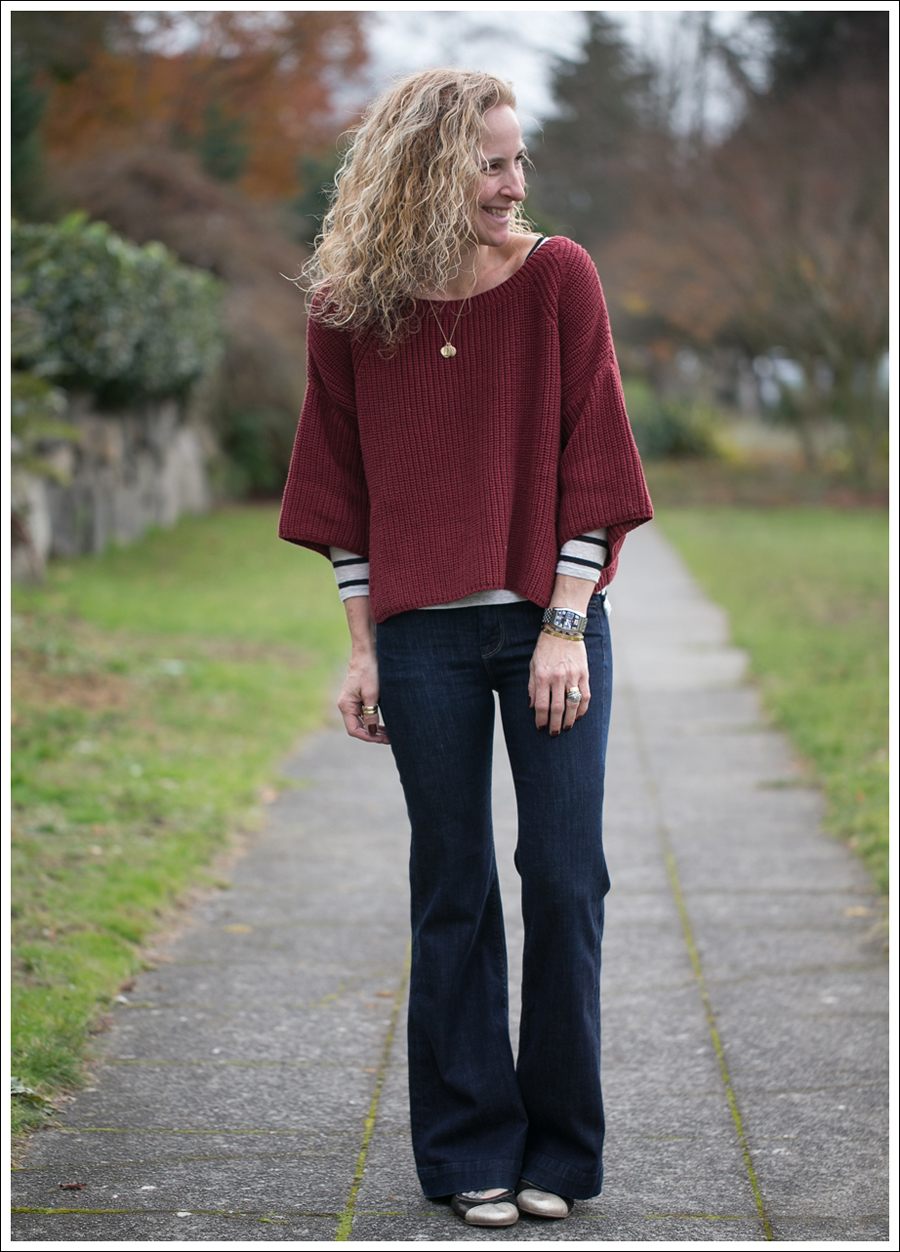 Blog Free People Ryanne Sweater 7FAM Ginger Nene Shoes Emma Gunmetal-1