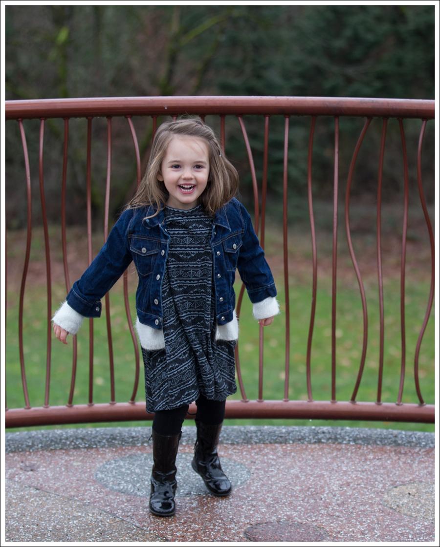 Blog Gap Kids Jean Jacket SweetLukaMo Forest Native Dress Naturino Boots-1