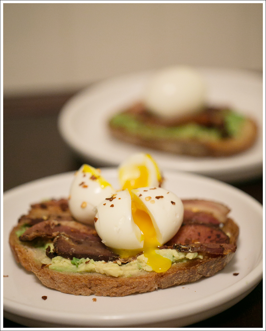 Blog Soft Boiled Egg Bacon on Avocado Toast-1