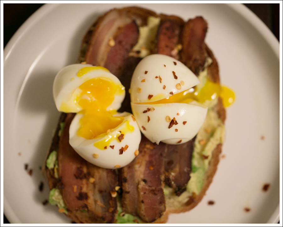 Blog Soft Boiled Egg Bacon on Avocado Toast-2