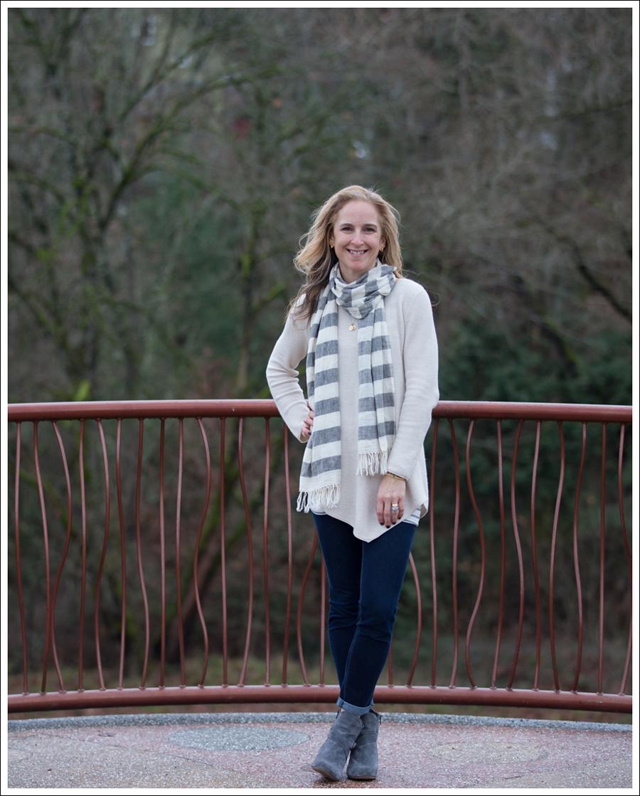 Blog StyleMint Scarf Joie Tambrel Sweater DL1961 Emma Lola Keim Booties-1
