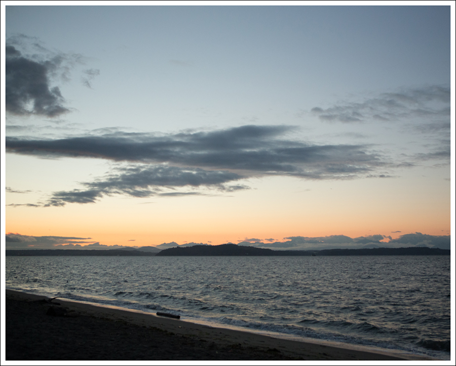 Blog West Seattle Sunset Sept 2015