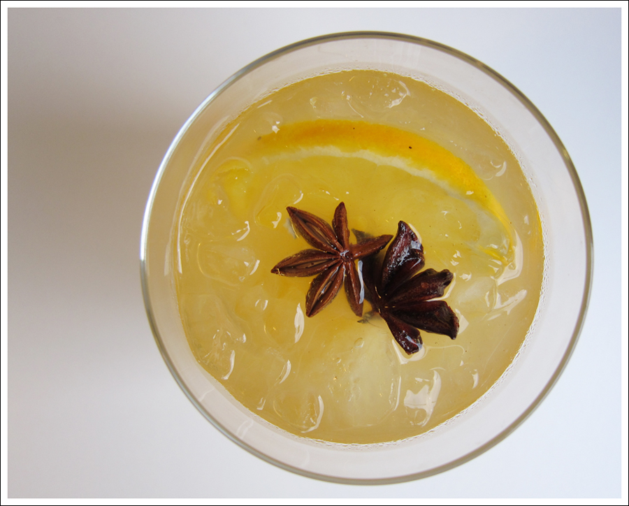 orange bourbon anise cocktail blog