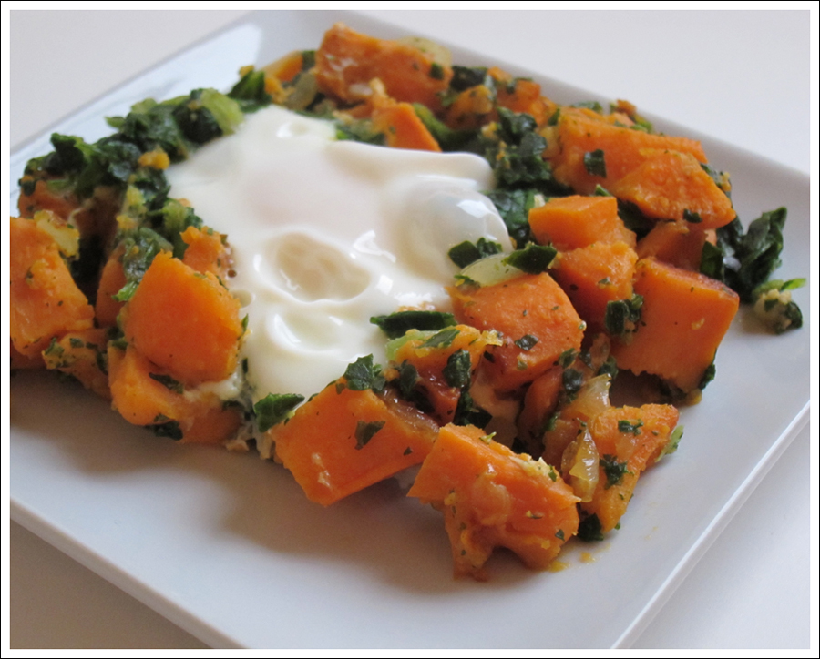 yam spinach egg hash blog (2)