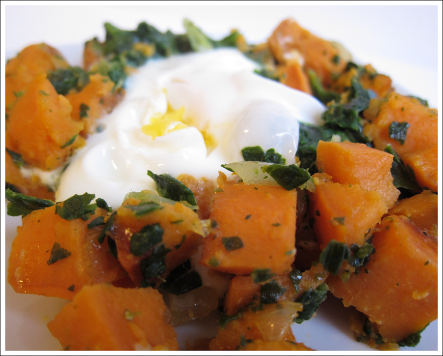 yam spinach egg hash blog (3)