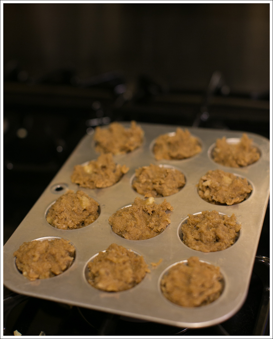Blog 4 Ingredient Paleo Banana Maple SunButter Mini Muffins-9
